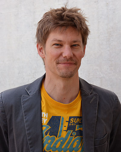 photo of Andreas Sonderegger, Youser's collaborator